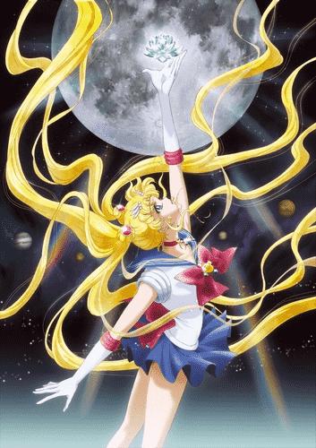 Красавицавоин Сейлор Мун Кристалл постер