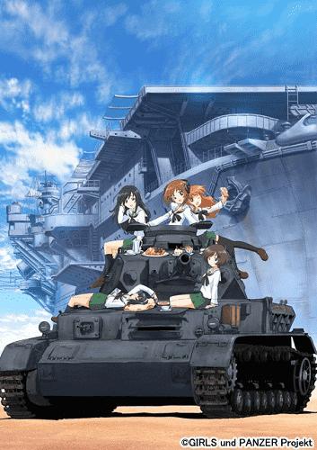 Девушки и танки постер