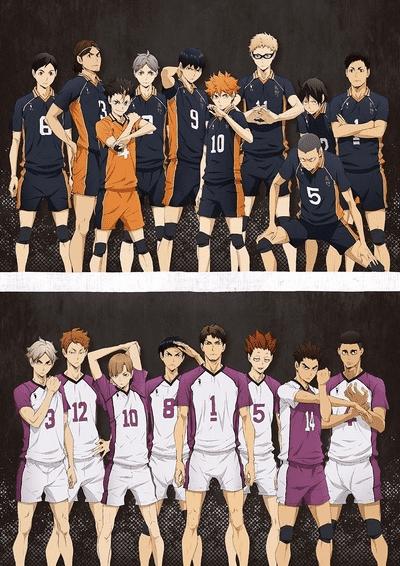 Волейбол Карасуно против Шираторизавы ТВ3 постер