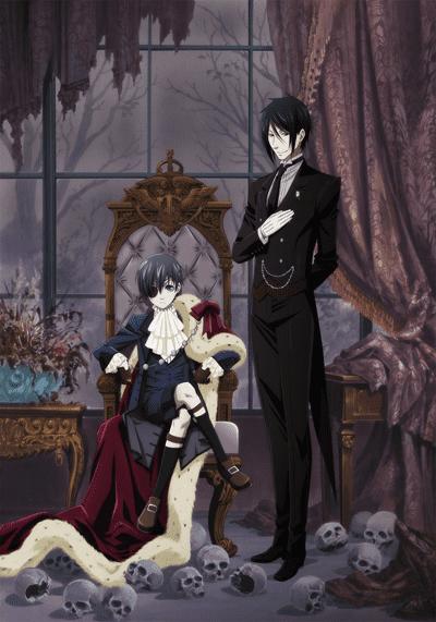 Постер Темный дворецкий
