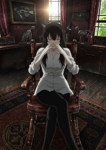 Труп зарытый под ногами Сакурако постер