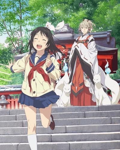 Смотреть аниме Инари лисицы и волшебная любовь / Боги лисицы и любовь онлайн