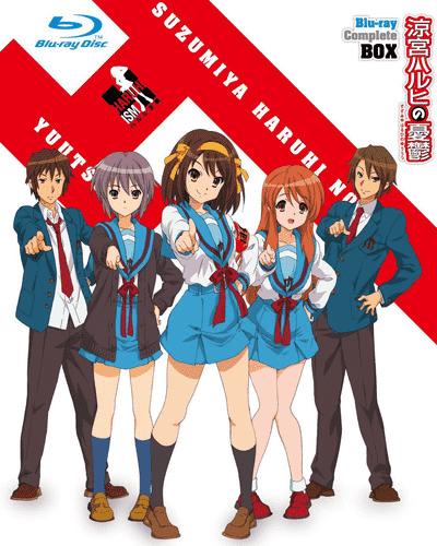Меланхолия Харухи Судзумии хронологический порядок 2009 постер